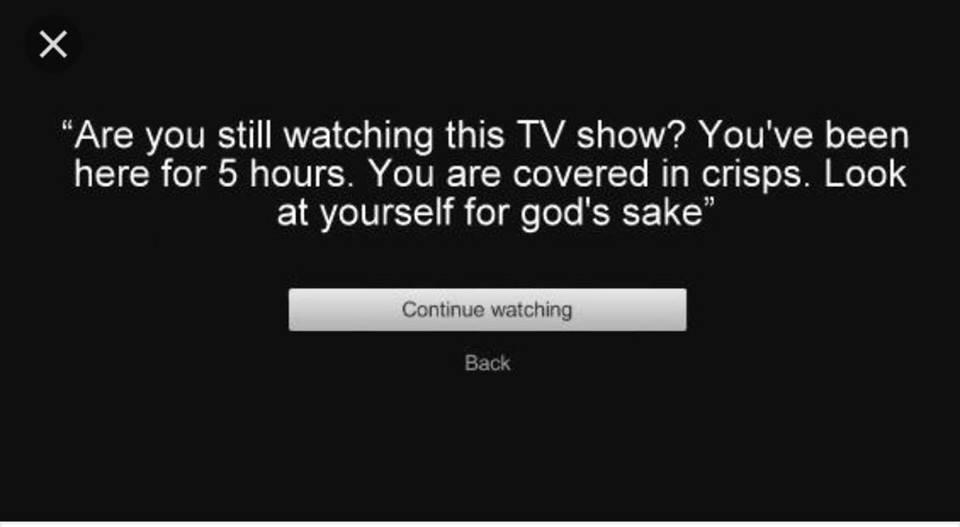 Ser juzgado por Netflix! #CosasQueOdio https://t.co/fUVOVkidNi