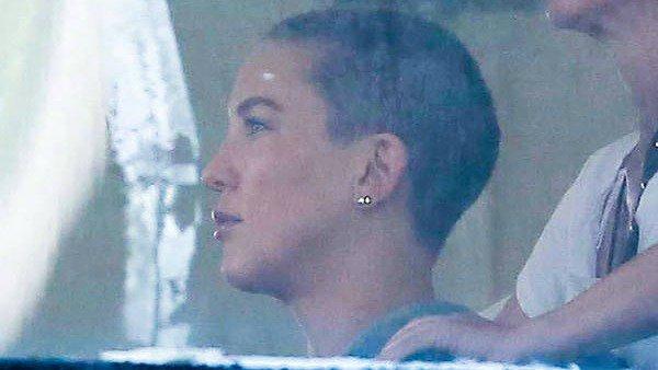Yep. Kate Hudson just shaved her head: