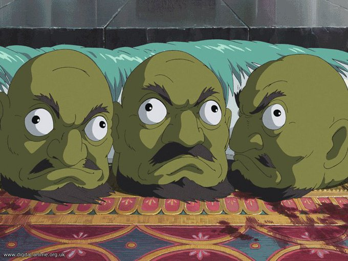 Why does every guy who insults cam models look and act like the dismembered heads from spirited away