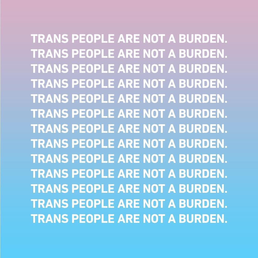 Trans Rights are Human Rights. #ProtectTransTroops https://t.co/QSXKCtchpJ