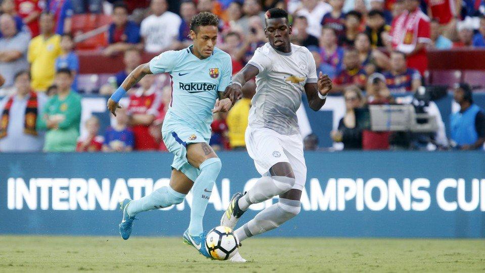 📝 La crónica del #BarçaManU 'Neymar Jr decide el segundo amistoso (1-0)' #BarçaUStour
