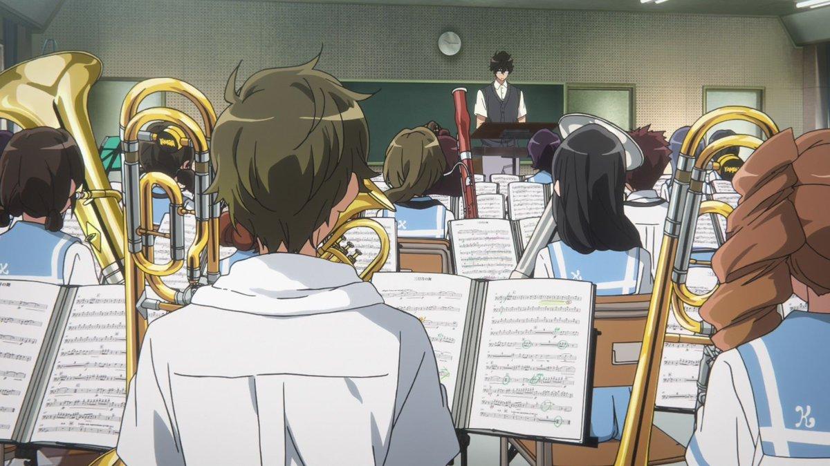 #ユーフォ今日は何の日久美子試練の最終日。秀一は例の箇所のOKやっと貰えました。合奏は午前なので「あと10日」とは別日か