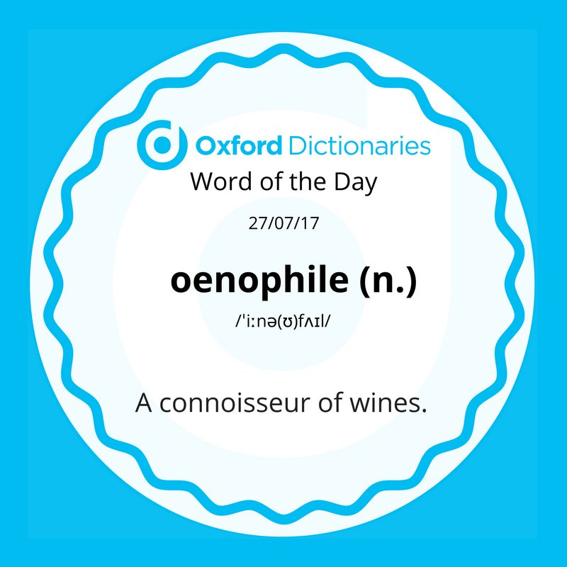 test Twitter Media - Word of the Day: oenophile https://t.co/EJNtGcGPxU https://t.co/HfWXt9anvo
