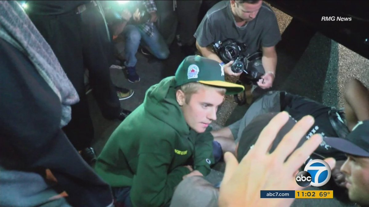 #JUSTINBIEBER UPDATE Video shows moment Bieber struck paparazzo with his pickup truck