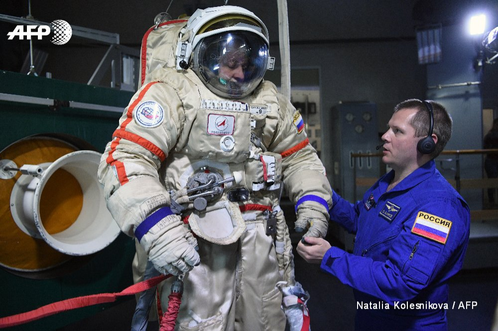 Astronauts gear up for space with tough Russian training