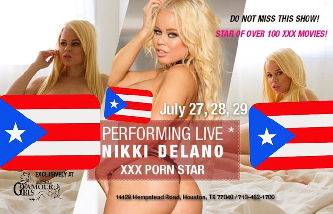 Meet me live in Houston Texas tom thru Saturday at Glamour Girls💃 https://t.co/JWo4VU2Jkx