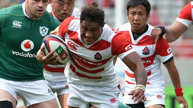 test Twitter Media - Japan a long way from Rugby Championship inclusion, says New Zealand rugby union CEO Steve Tew: https://t.co/5uLsyr1xgy https://t.co/ouQVkiP1jL