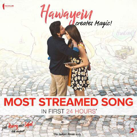 Thank you for the love … keep the Hawayein blowing..keep streaming https://t.co/P5pGNf0Tmd https://t.co/gaunyViGrI