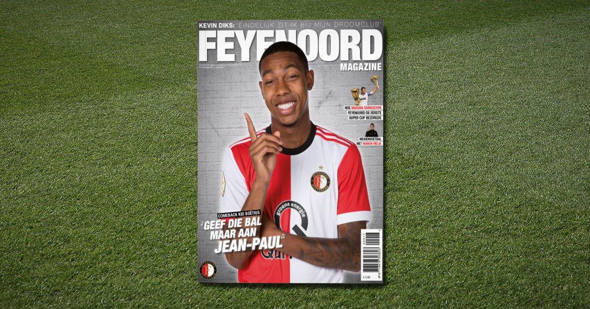 test Twitter Media - 🔜 | Deze week op de mat bij alle leden van Het Legioen: het eerste Feyenoord Magazine van 2017-2018! 🔴⚪️  #Feyenoord https://t.co/6LPktuKjVx