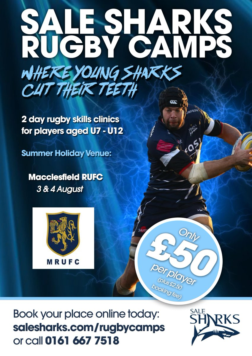 test Twitter Media - The Sale Sharks Rugby Camp will be taking place at MRUFC 3rd & 4th August! https://t.co/kSFtTuaFA9