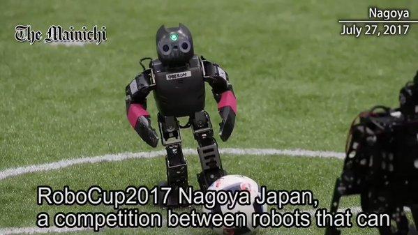RoboCup2017 Nagoya puts robot AI to the test