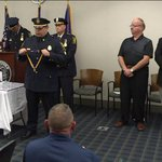 Hartford police officers honored for heroic service 43 years after being shot