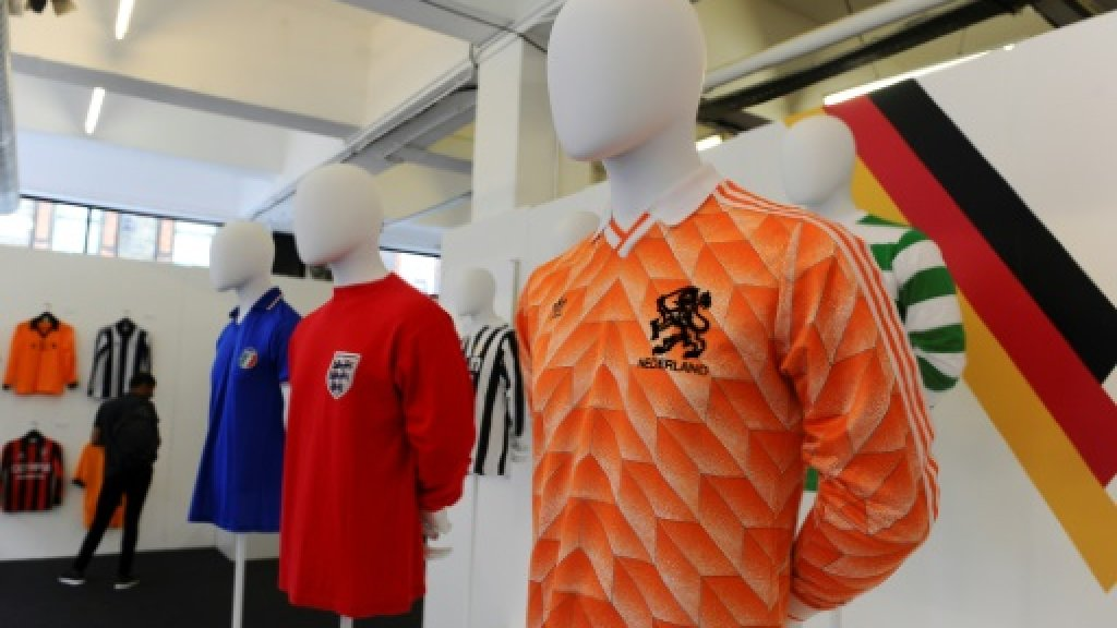 Football shirts reappraised as design classics