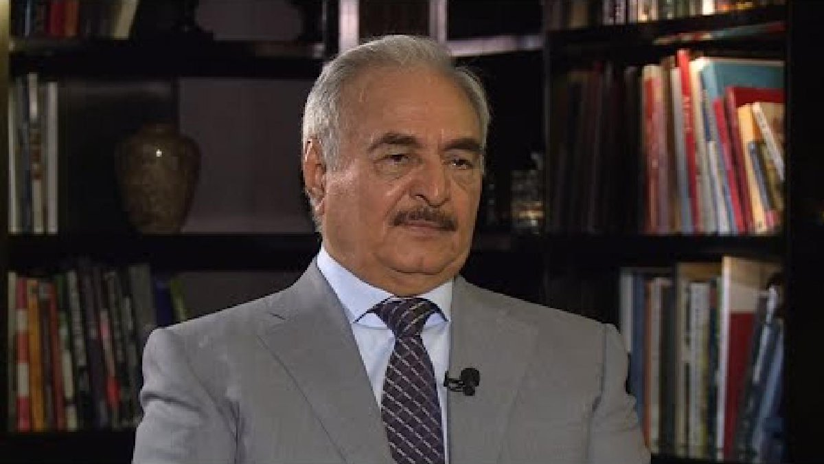 ?? Libya's Haftar vows to deal with terrorists 'through weapons'