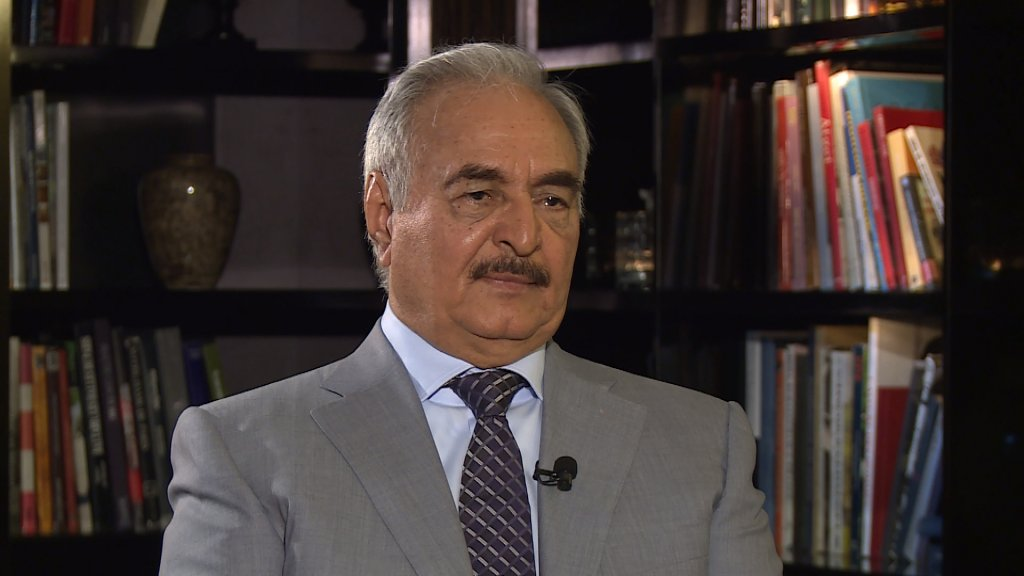 THE INTERVIEW - Libya's Haftar vows to deal with terrorists 'through weapons'