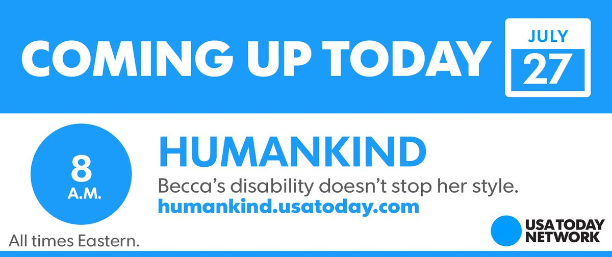 Coming up from the USA TODAY Network: an inspirational video from @Humankindvideos and more.