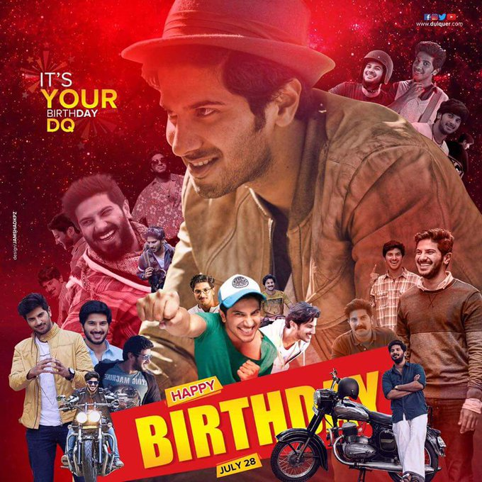 Happy birthday Dulquer Salmaan  ekkaa..