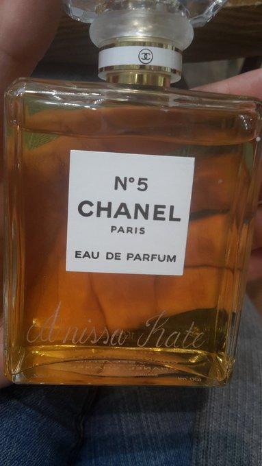 New fragrance #ChanelN5 ☺ https://t.co/eCp904hafA