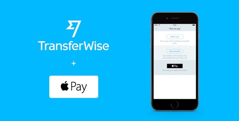 TransferWise Now Supports Apple Pay For U.S. Dollar Transfers