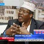 MIGUNA totally destroys a KTN presenter and makes him look like a zombie on live TV (VIDEO).