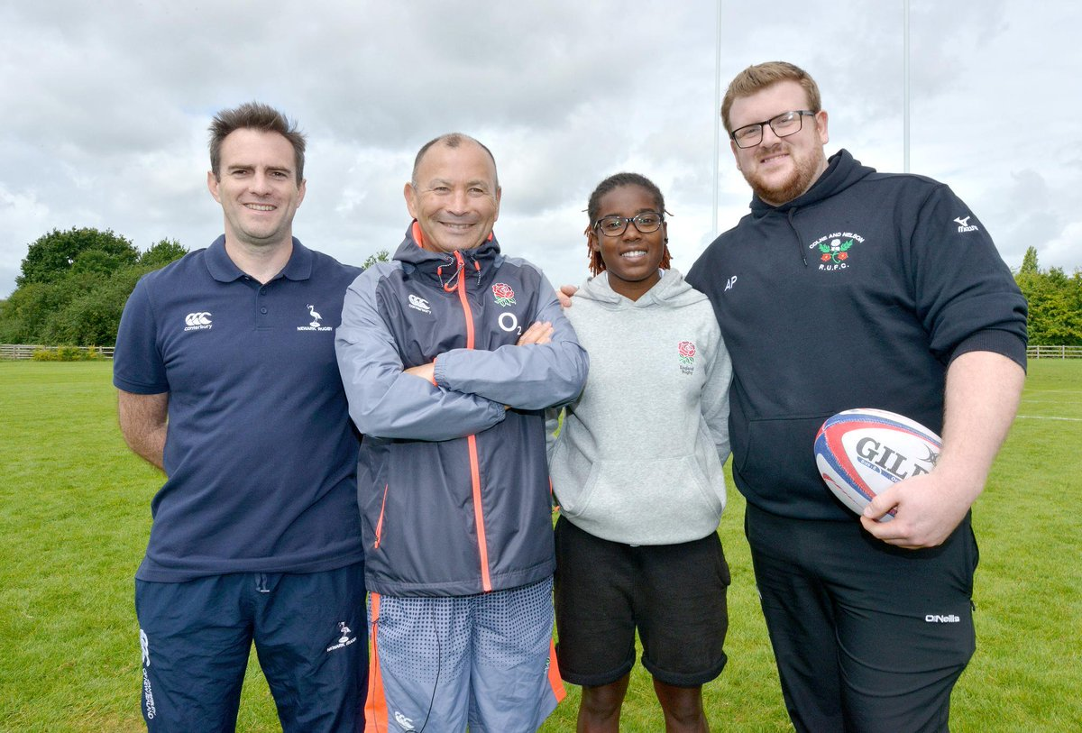 test Twitter Media - Great to see Eddie Jones join coaches from across the country today for a volunteer recognition event at @LiRFC 🌹 https://t.co/3cE6i3W4aD