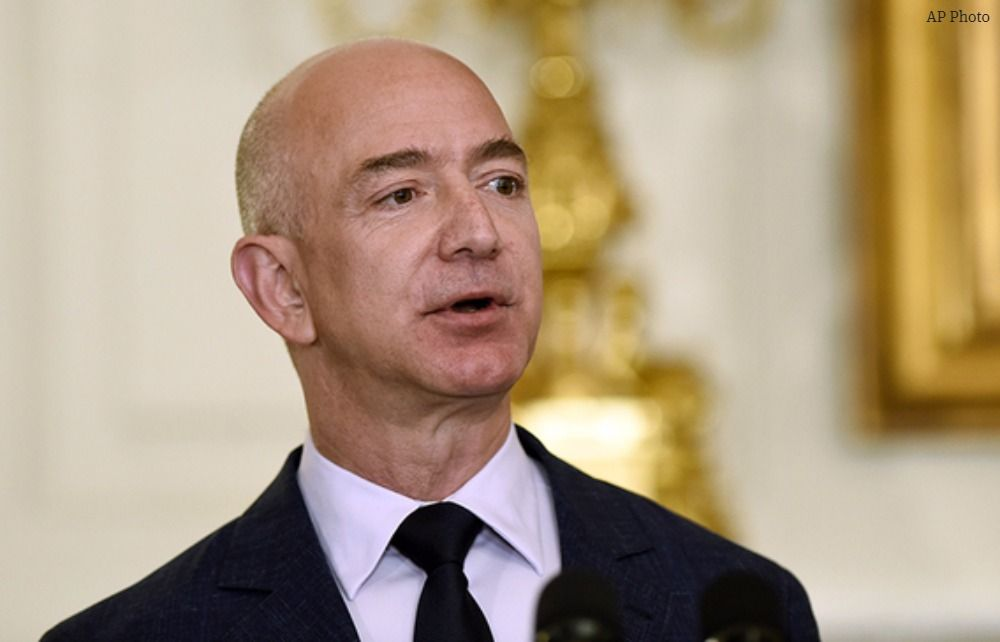 Amazon's Jeff Bezos passes Bill Gates as world's richest person