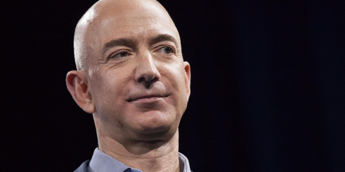 Jeff Bezos tops Bill Gates as world's richest