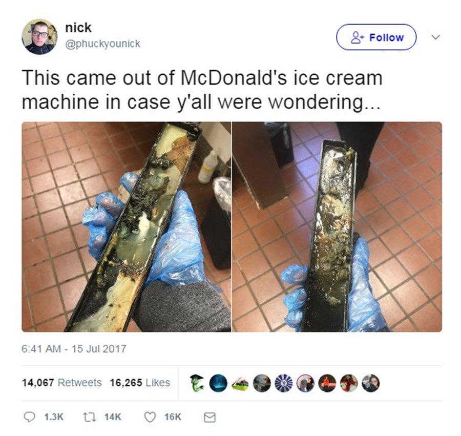 McDonald's China assures customers ice cream gunk won't happen here