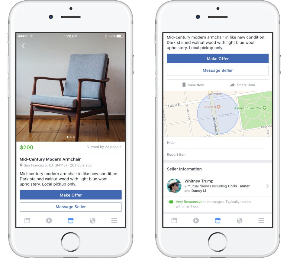 Facebook brings its Craigslist-inspired Marketplace to Canada via @fptechdesk