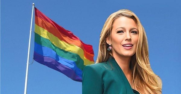 Blake Lively defended transgender troops against an Instagram troll: