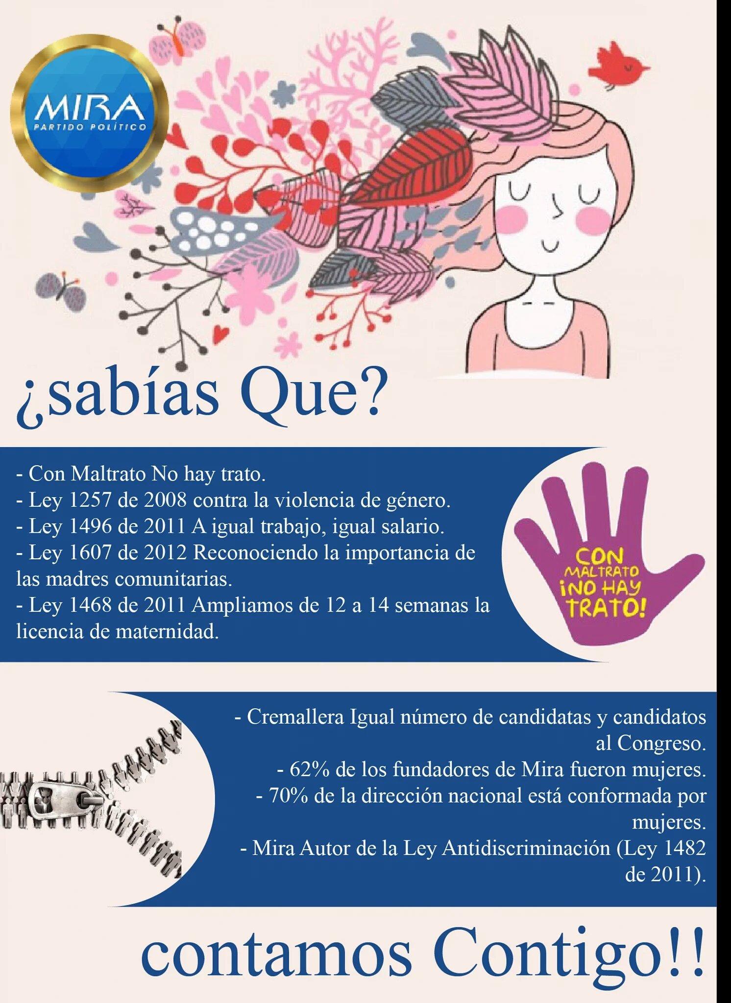 @GloriaDiazM @ConcejoDeBogota Todas debemos de trabajar arduamente para que deje de existir el maltrato hacia la mujer @gloria_stella https://t.co/DougtinSqG