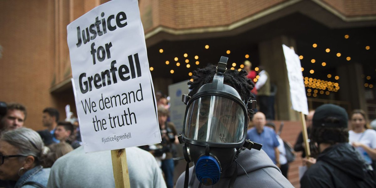 """London fire: UK police say there are """"reasonable grounds"""" to suspect corporate manslaughter"""