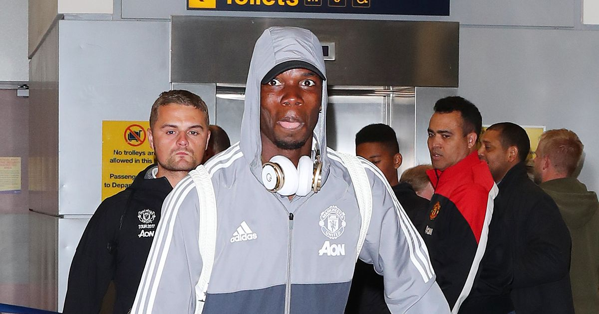 Manchester United arrive home after pre-season tour of USA - pictures