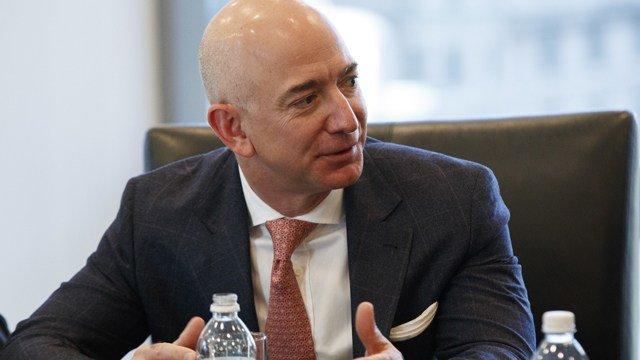 Jeff Bezos dethrones Bill Gates as world's richest person