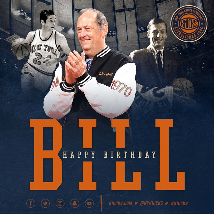 Join us in wishing a happy birthday to legend Bill Bradley!