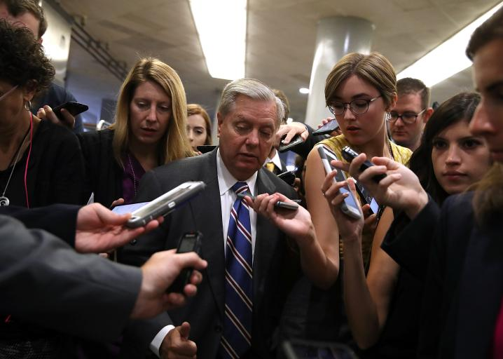 Panicked Republican senators discover that bill can become law.