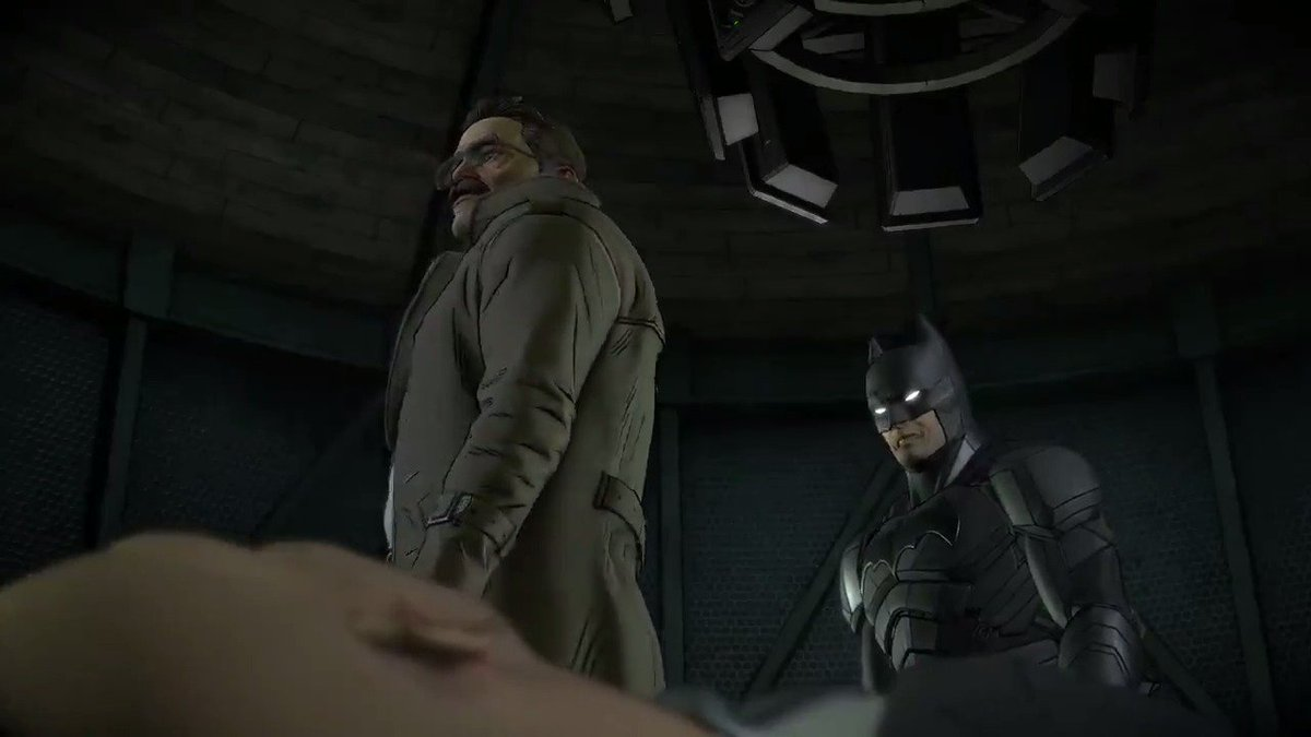 ICYMI Here's exclusive @telltalegames' #Batman The Enemy Within gameplay!