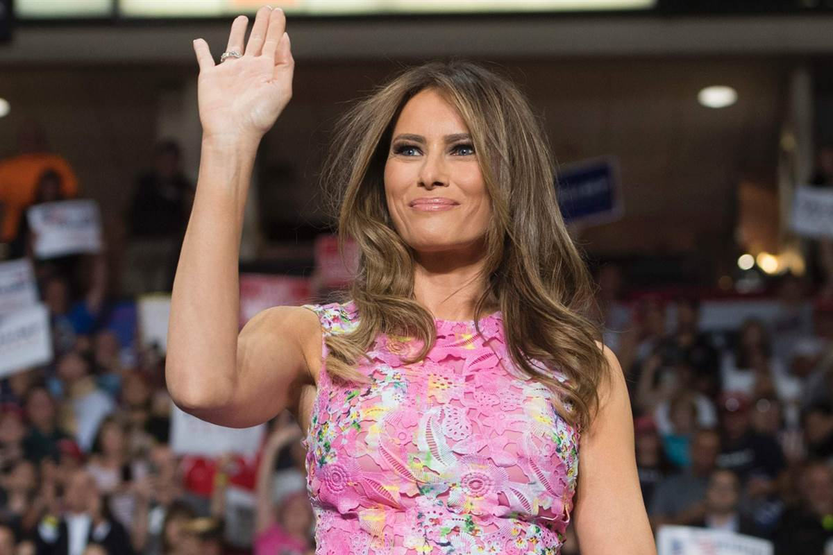 Melania Trump's first solo trip as first lady will be to Canada