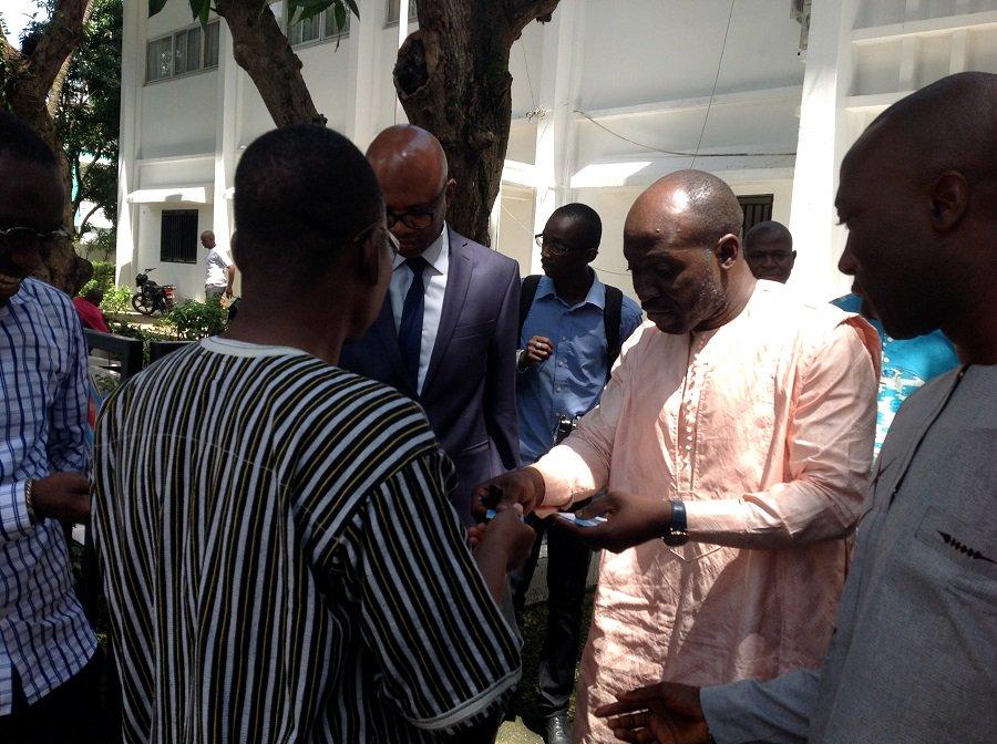 Les représentants des sociétés civiles sénégalaise et burkinabé chez Khalifa Gassama Diaby