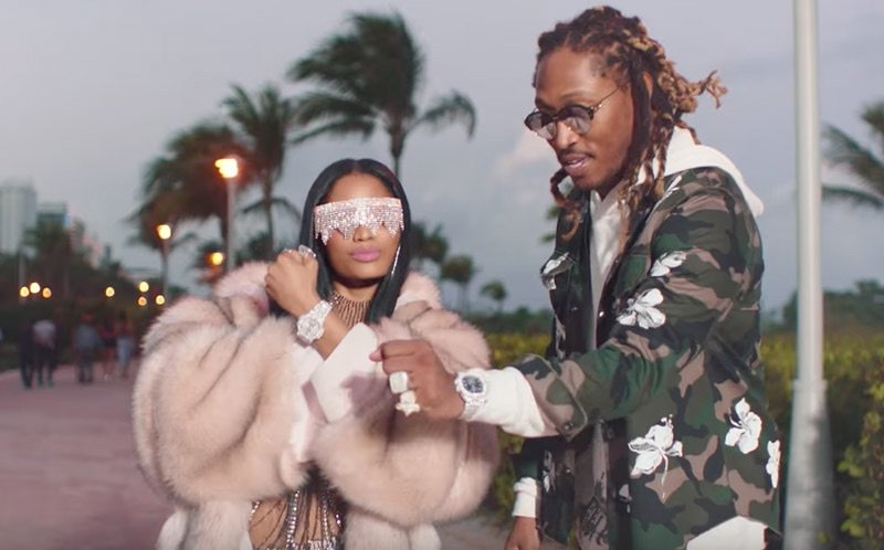 "Future and Nicki Minaj's video for ""You Da Baddest"" is here. Watch now"