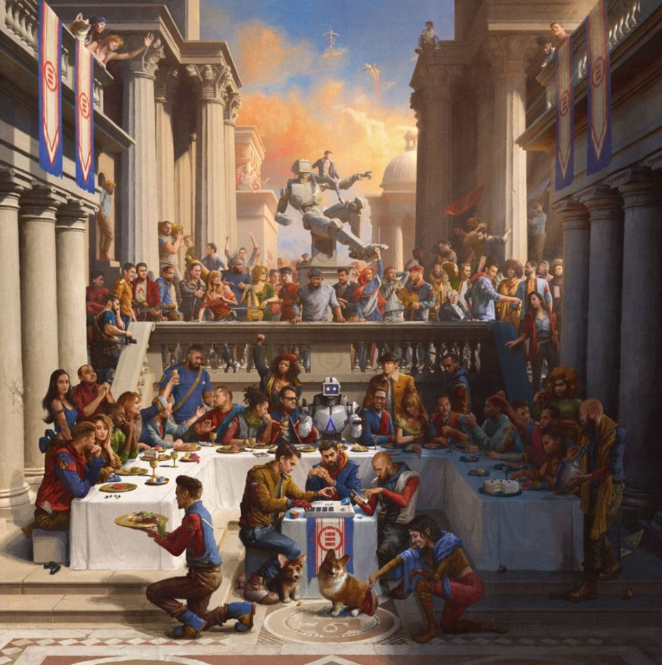 .@Logic301 easily dropped one of the most important rap albums of the year