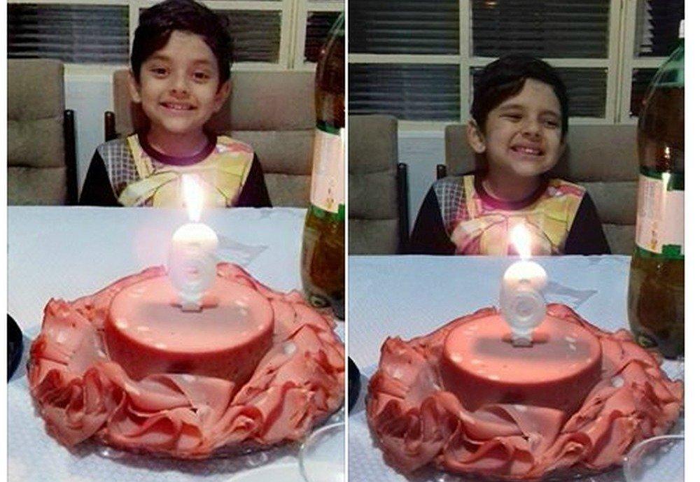 Apaixonado por mortadela, menino ganha bolo de aniversário temático e foto viraliza #G1