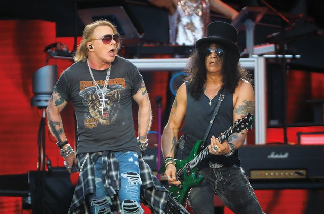 Guns N' Roses, Coldplay & Justin Bieber are 2017's top touring artists