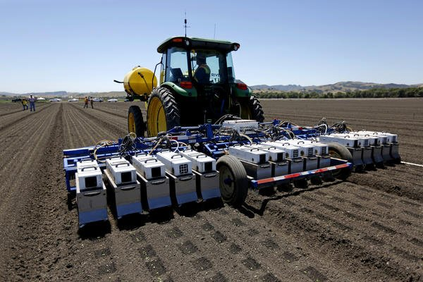 As California's labor shortage grows, farmers race to replace workers with robots