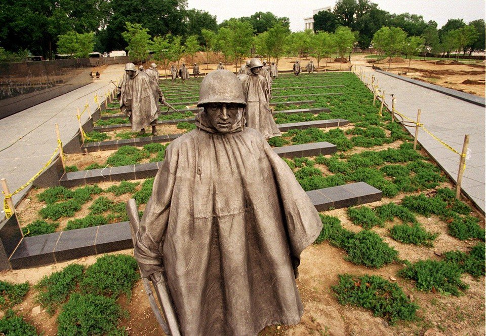Korean War Veterans Memorial dedicated July 27, 1995