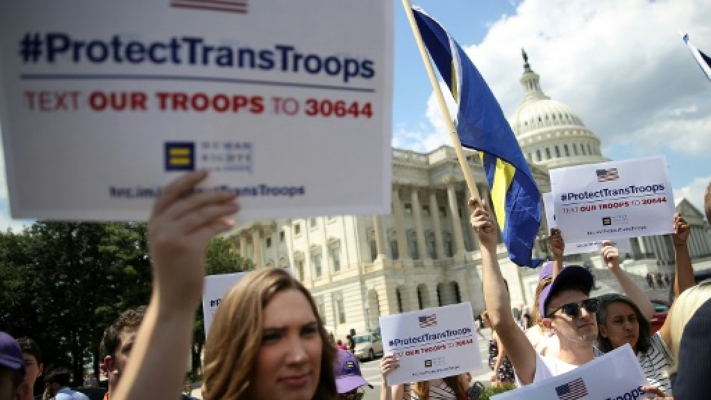 No changes yet to US military transgender policy: Joint Chiefs