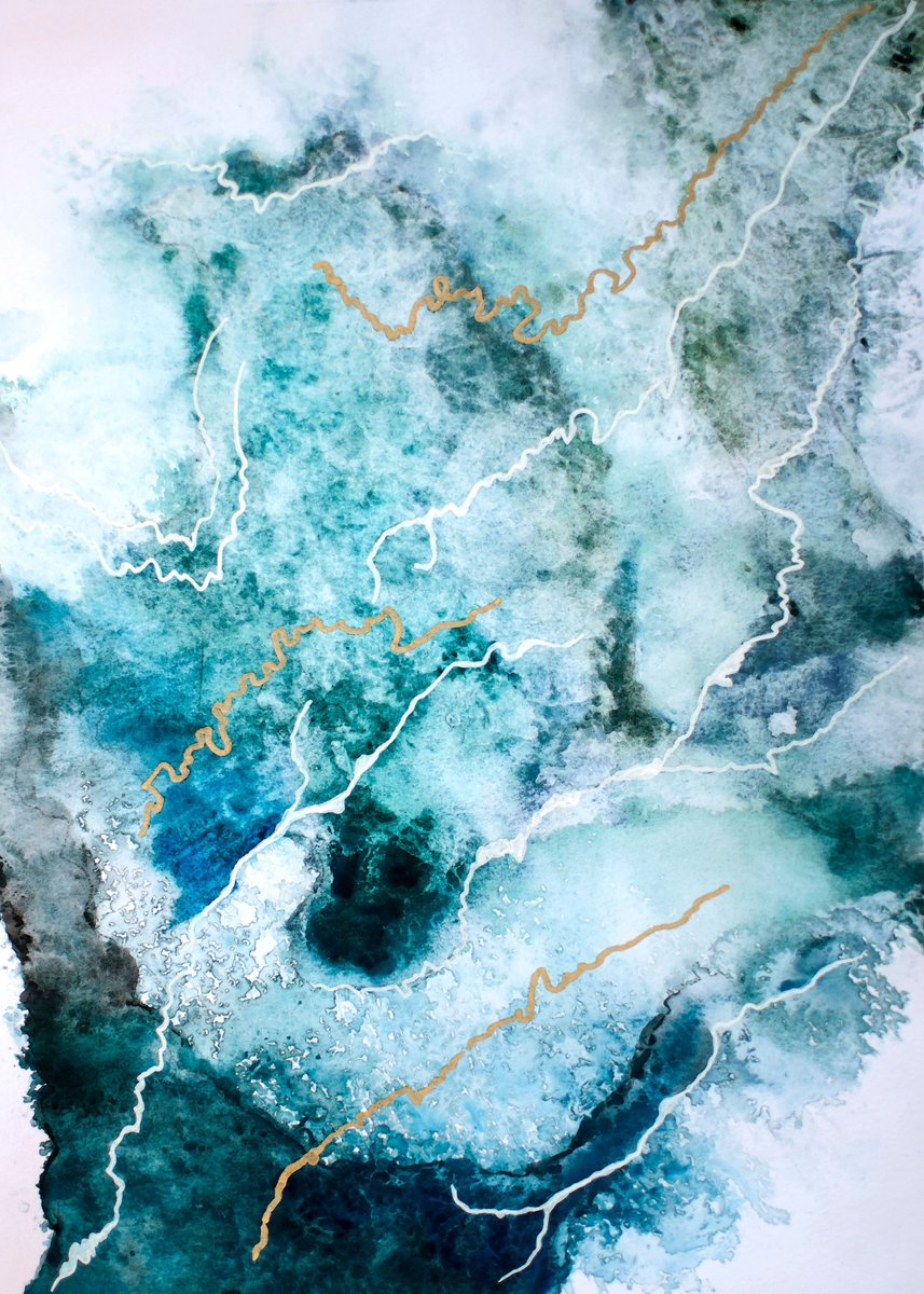 Lovely abstract painting from the site.. https://t.co/8Vsbftq82M https://t.co/ZF6Mc9eos5
