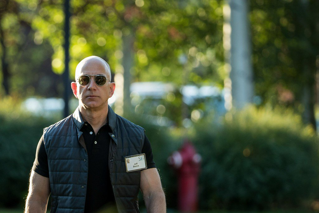Jeff Bezos wins, then loses title of world's richest person