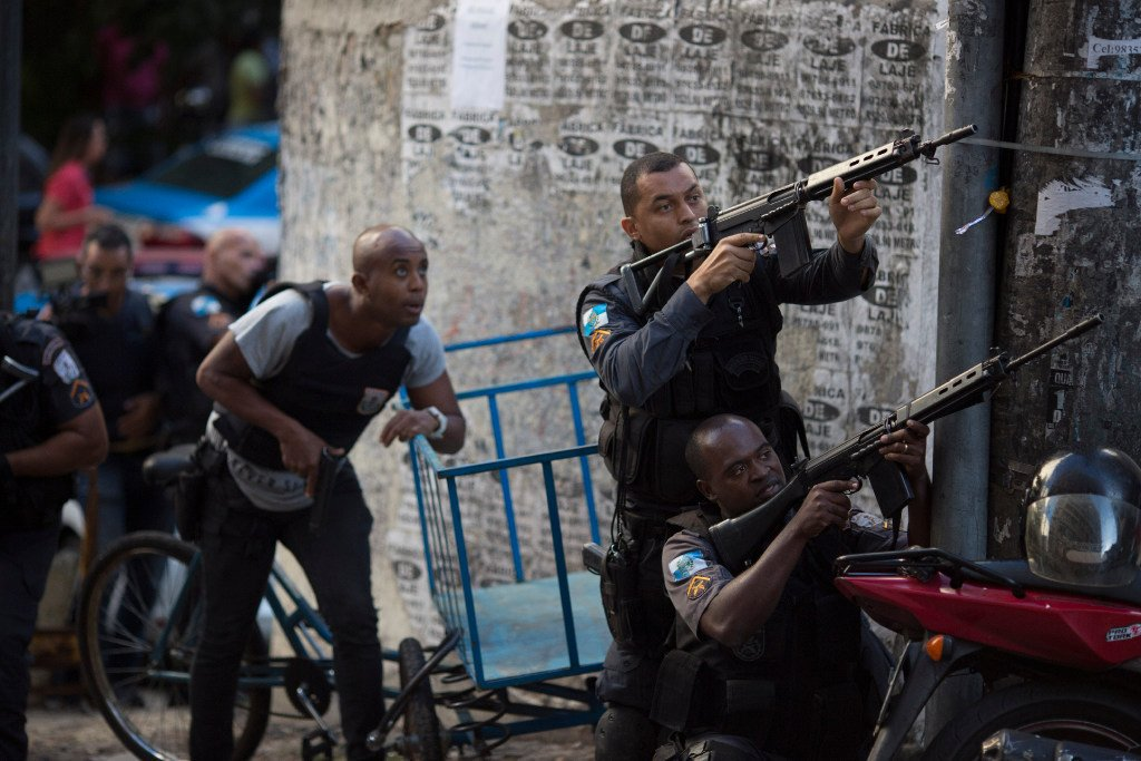 Brazil defense minister: Troops to fight violence in Rio