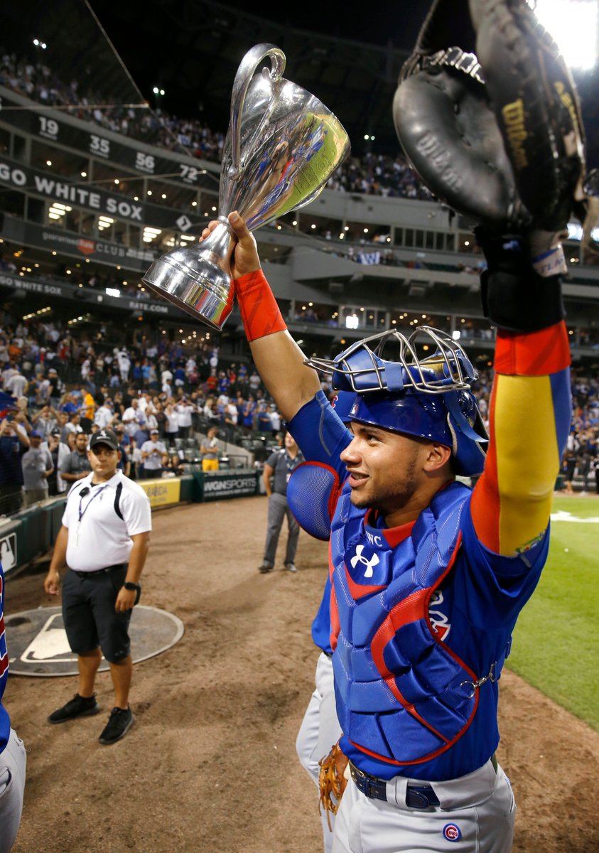"""So now that you've won the #CrosstownCup, what will do you next?""""I'M GOING TO MILWAUKEE!"""""""